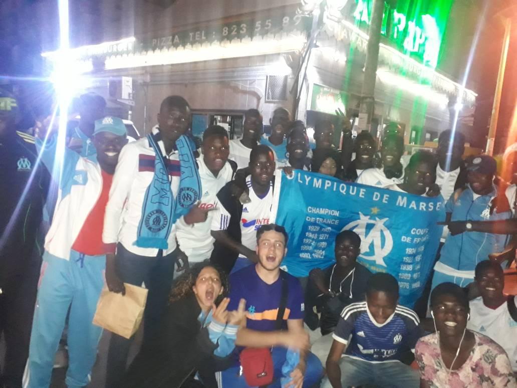 Finale Europa League OM / Atlético : Les supporters sénégalais de l'Olympique de Marseille se mobilisent pour la victoire