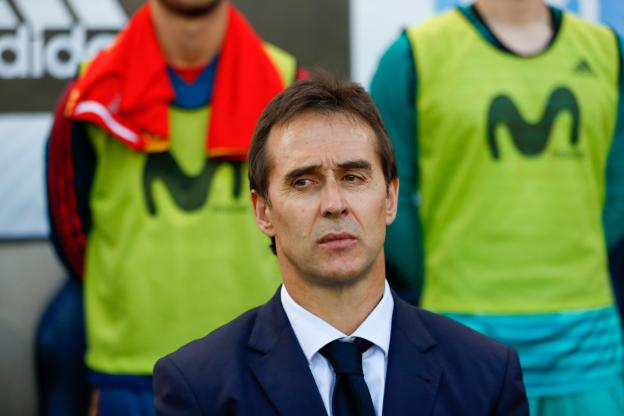 Julen Lopetegui nouvel entraîneur du Real Madrid