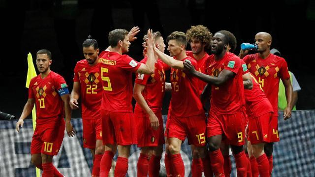 C.D.M : La Belgique élimine le Brésil