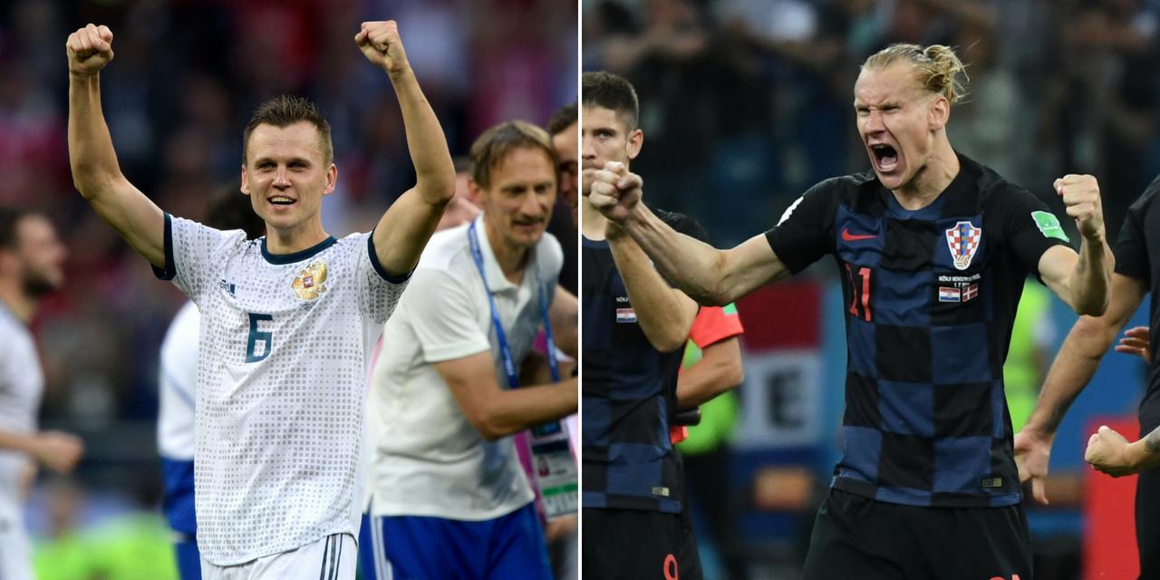 C.D.M ¼ de finale/Russie vs Croatie:les Russes rêvent du carré d'as