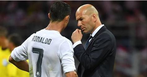 Cristiano Ronaldo répond à l'appel de Zidane après son départ du Real Madrid