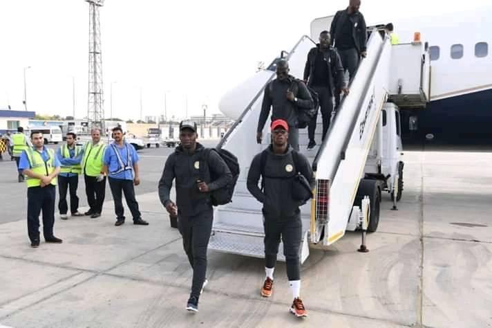 CAN 2019 : Les Lions sont arrivés en Egypte