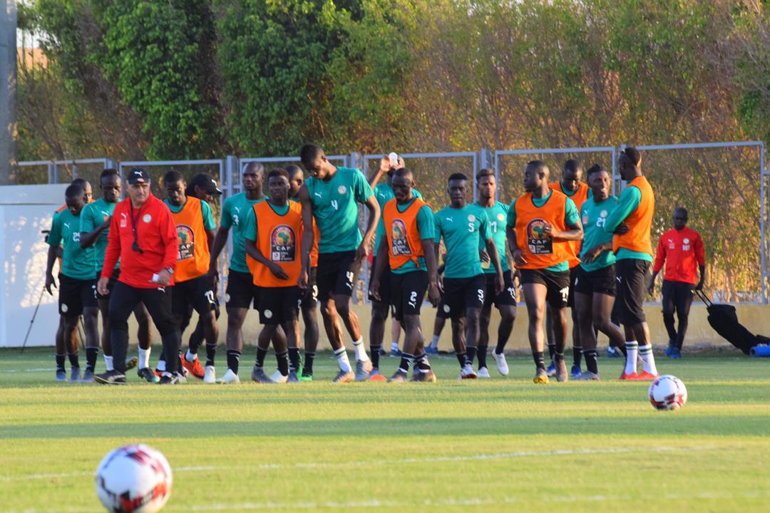 CAN 2019: Premier galop après Bénin: Ismailla Sarr et Alfred de retour