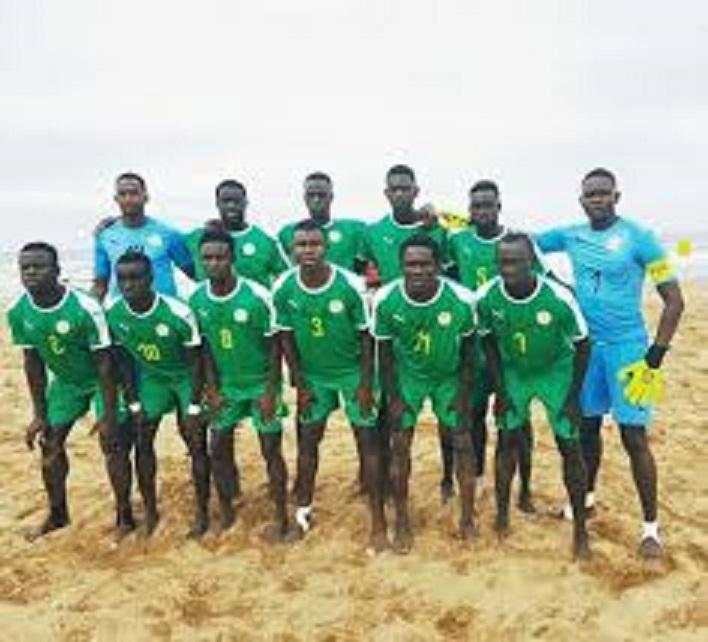 Beach soccer: Stage de préparation Coupe du monde 2019