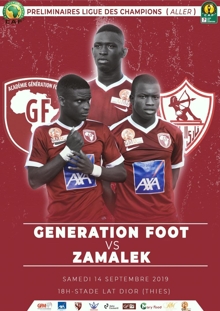 Match Amical : Génération Foot s'impose devant l'équipe nationale locale avant de croiser le Zamalek