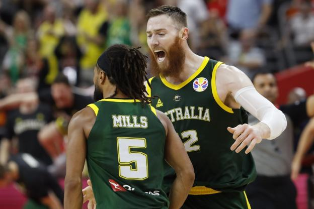 Basket : Quarts de finale Mondial Chine 2019 : L'Australie  écarte la République Thèque