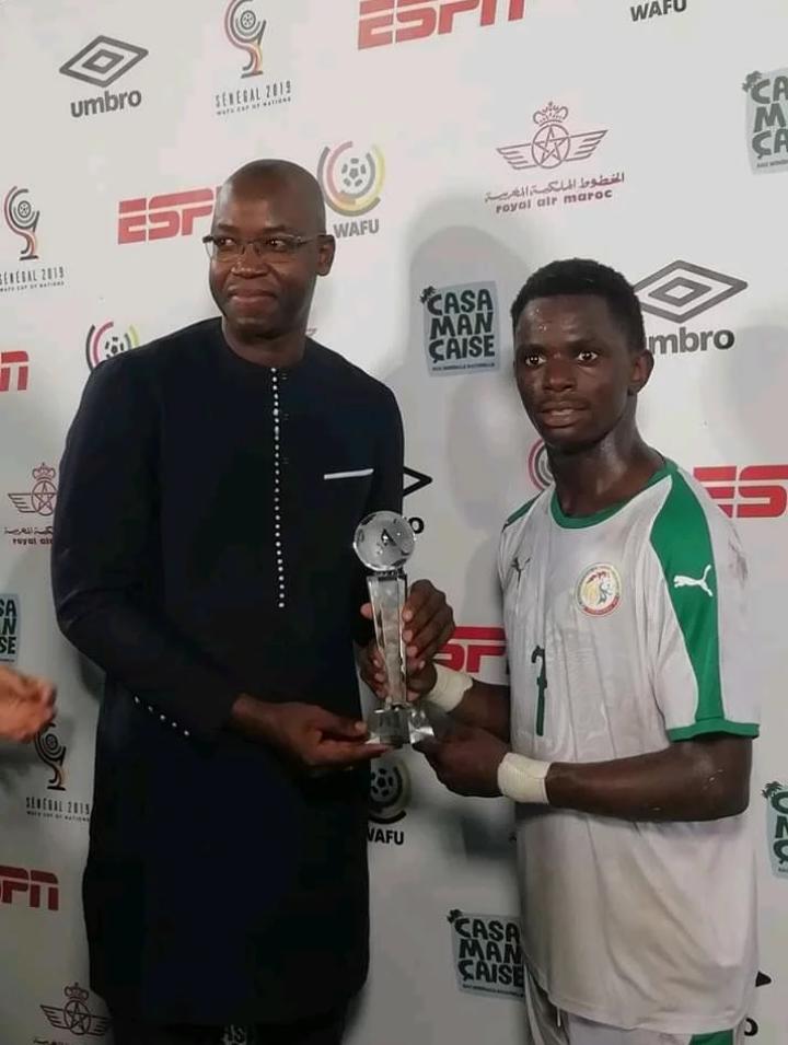 Wafu Cup 2019 – Sénégal vs Mali : Ousseynou Niang élu homme du match