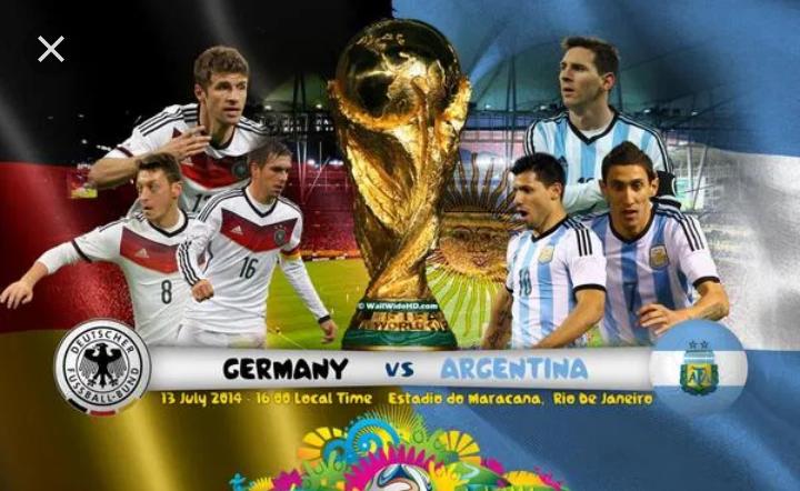 Match amical : l'Allemagne tenu en échec par l'Argentine (2-2)