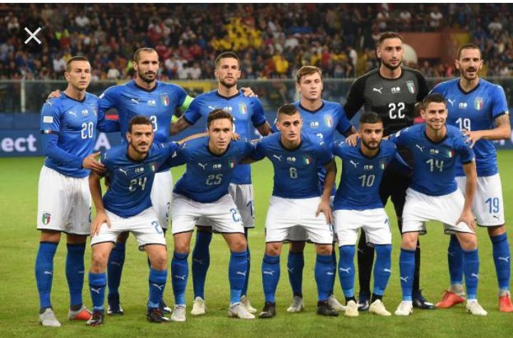 Coupe d'Europe 2020 : l'Italie est qualifiée