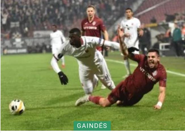 Ligue Europa: Rennes s'incline à Cluj et dit déjà au revoir à la compétition (1-0) !