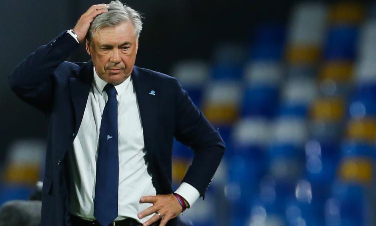 Crise à Naples, Ancelotti réagit : « Le moment est difficile, je dois trouver un remède »