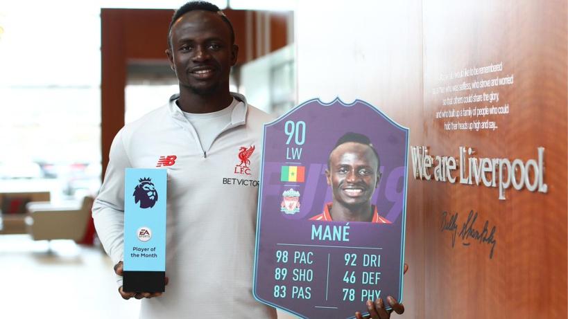 Premier League/ Meilleur joueur du mois : Sadio sur la liste des nominés
