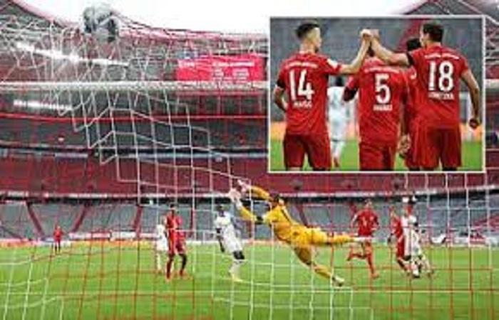 Bundesliga : Bayern et Dortmund assurent, Haaland muet