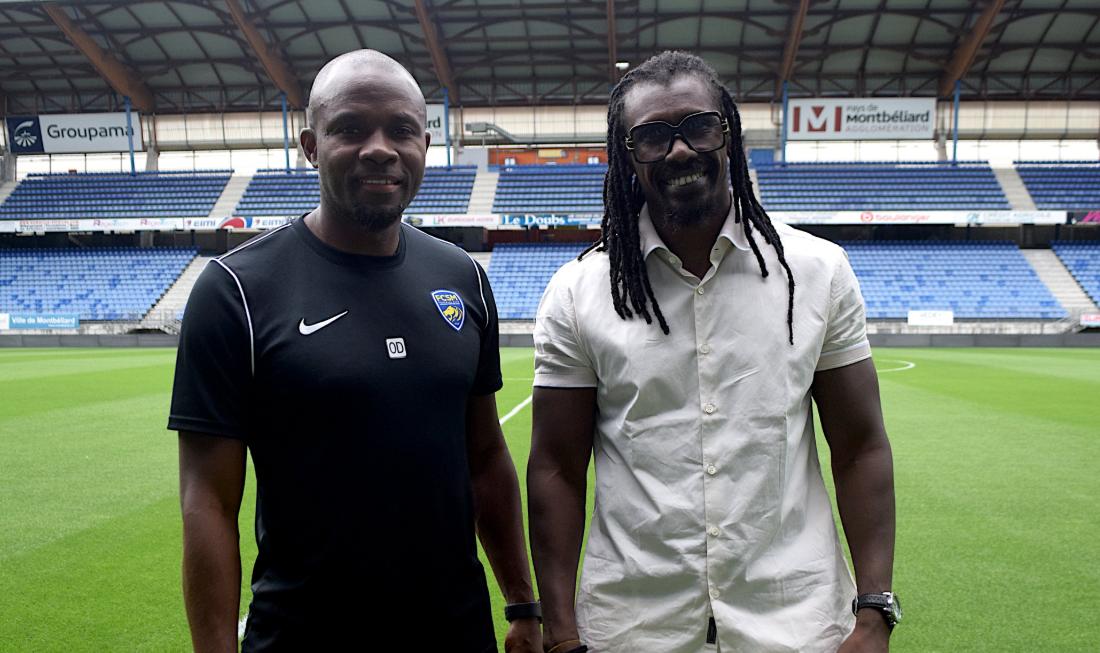 FC Sochaux: Aliou Cissé rend visite à Oumar Daf