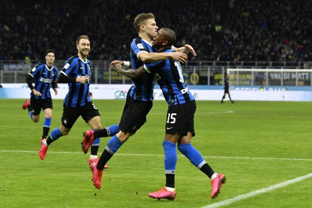 Séria A : l'Inter bat Naples et reprend la 2e place