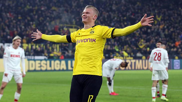 Bundesliga : Dortmund bat Gladbach, doublé de Håland