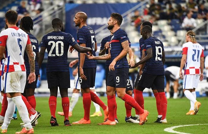 Ligue des nations : France bat la Croatie, Angleterre battu par Danemark