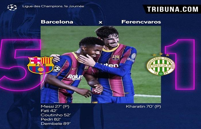 Barça : Fati et Pedri dans l'histoire