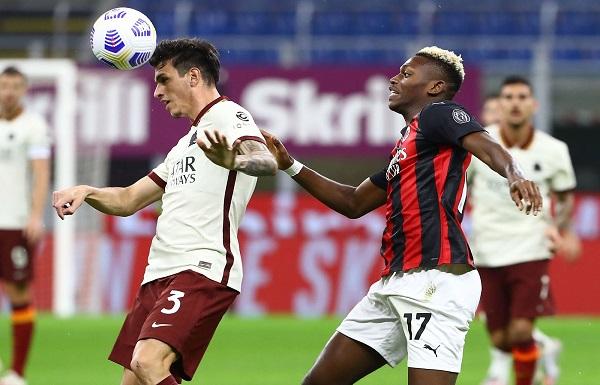 Série A: la Roma ralentit le Milan AC (3-3)