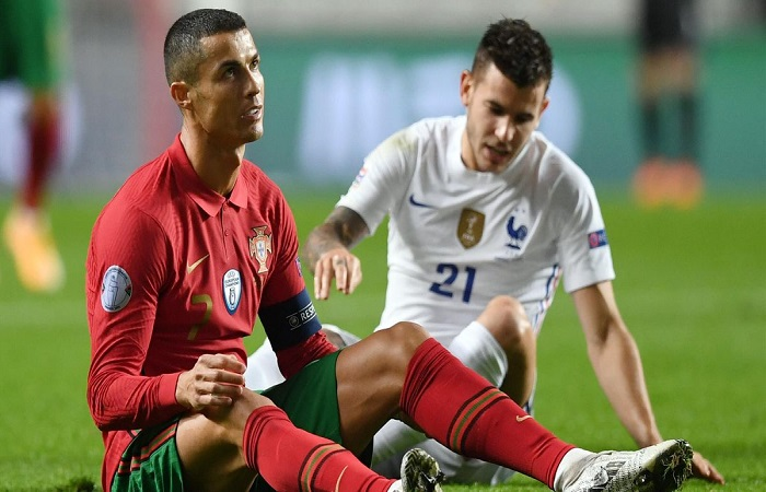 Face à la France, Ronaldo reste muet