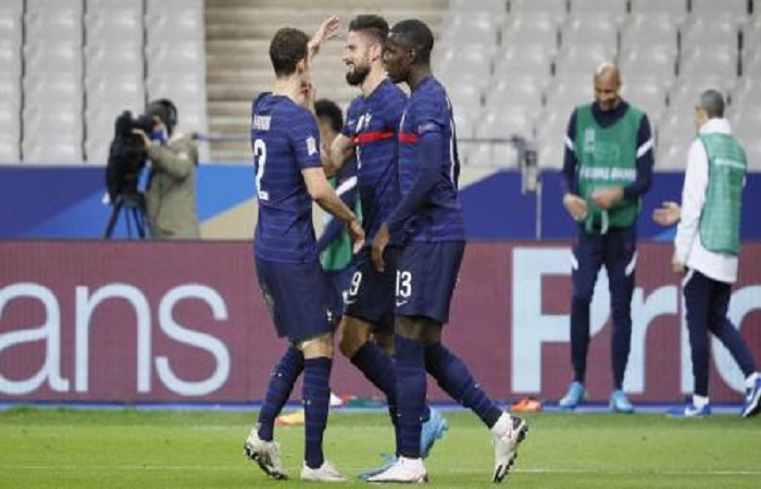 Ligue des nations : France 4-2 Suède, doublé de Giroud