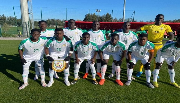 Match amical U17 : le Sénégal bat à nouveau le Maroc