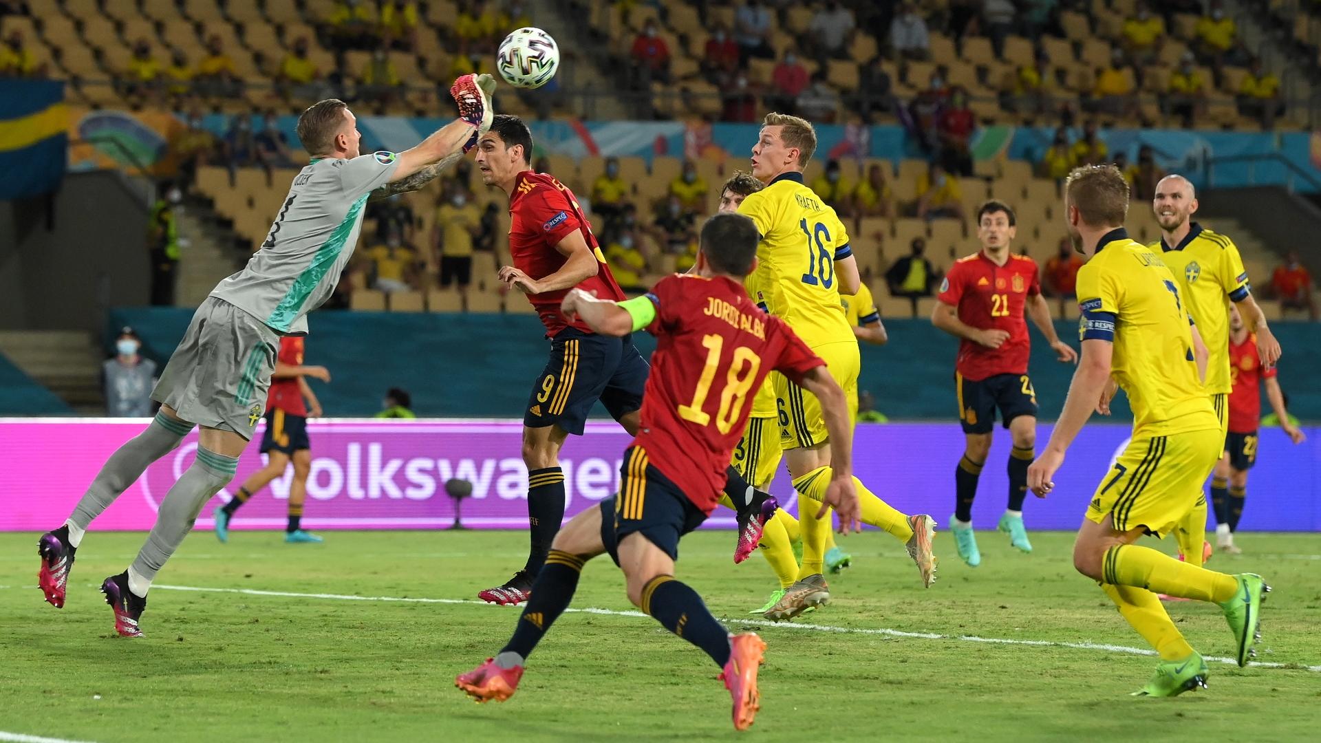 Euro : Espagne fait match nul contre la Suède