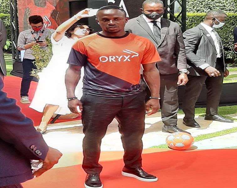 Sadio Mané nommé ambassadeur d'Oryx