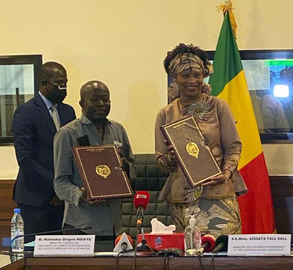 J.O.J 2026: Signature de partenariat entre le ministère des Affaires étrangères et le COJOJ