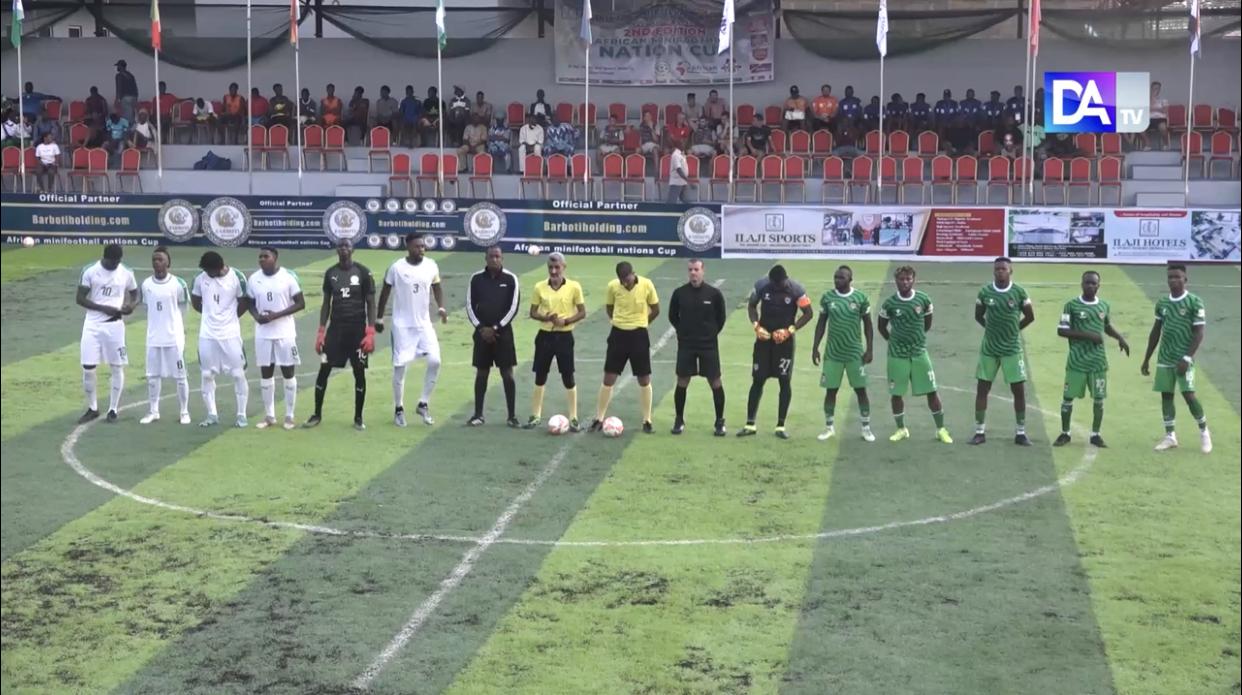 Mini Foot : le Sénégal contre la Cote d'Ivoire à 21h