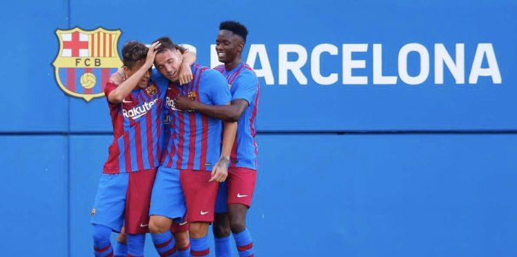 Barcelone : Moussa Ndiaye joue ses premières minutes avec l'équipe A