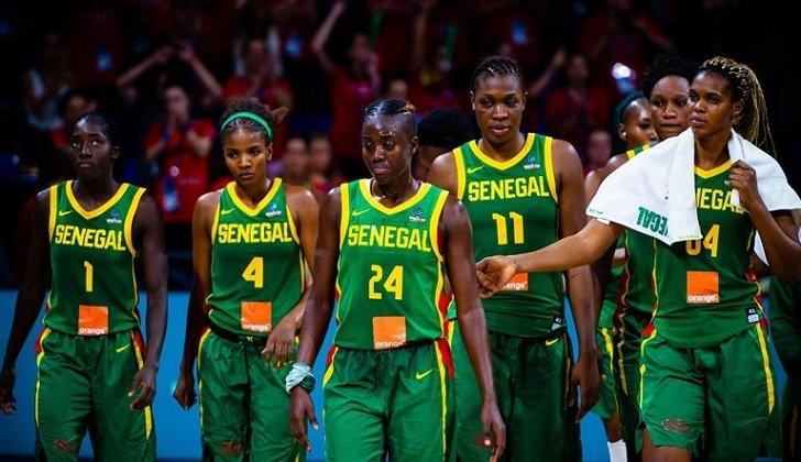 Afrobasket Dames : le Sénégal dans la poule C avec l'Egypte et le Gabon