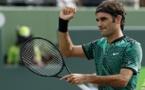Roger Federer élimine Del Potro et file en huitièmes de finale à Miami