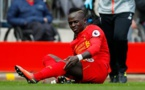 Blessé au genou, Sadio Mané risque de manquer la fin de saison