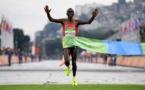 Marathon: Le Kenya Eliud Kipchoge s'offre le record du monde mais pas les 2 h
