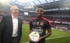 Jean Michaël Seri remporte le Prix Foé 2017, Cheikh Ndoye à la 6-éme place