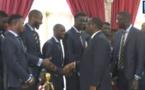 Suivez en direct la cérémonie de remise du drapeau à l'équipe nationale de Football