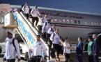 Le Maroc, première équipe africaine à fouler le sol russe