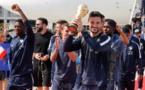 Mondial 2018 : après leur sacre, les Bleus de retour en France