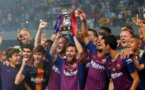 Le FC Barcelone remporte la Supercoupe