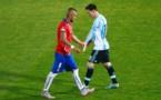 Barça/Vidal : « Messi est le meilleur joueur de l'histoire »