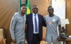 Sadio Mané et Keita Baldé reçus par le Président Macky Sall