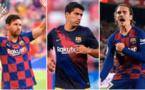 Liga: le Barça leader, Griezmann, Messu et Suarez buteurs