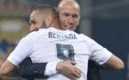 Zinédine Zidane sur Karim Benzema : « Je suis content parce qu'il ferme un peu des bouches »