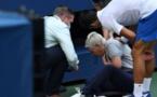 US Open : Djokovic disqualifié pour avoir touché une juge de ligne