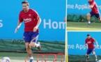 Barcelone : Lionel Messi de retour à l'entraînement