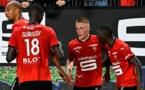 Ligue 1 : Rennes bat Monaco (2-1)