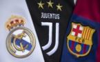 SUPER LIGUE : Le Réal Madrid , le Barça et la Juventus répondent aux menaces de l'UEFA