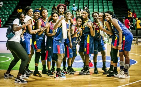 Afrobasket féminin : la RD Congo hérite du Nigeria en quart de finale