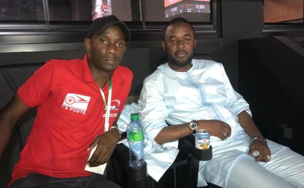 AFROBASKET 2019 : Boubacar Ndiaye et Béa Fall en mode supporter